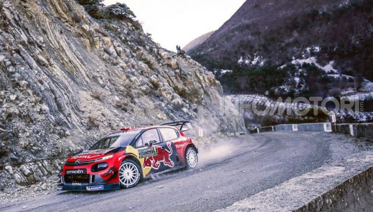 WRC Monte Carlo 2019 – Giorno 1: Ogier al comando con la Citroën C3 WRC - Foto 5 di 6