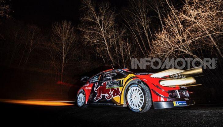 WRC Monte Carlo 2019 – Shakedown: buon piazzamento per le due Citroën C3 WRC - Foto 3 di 6