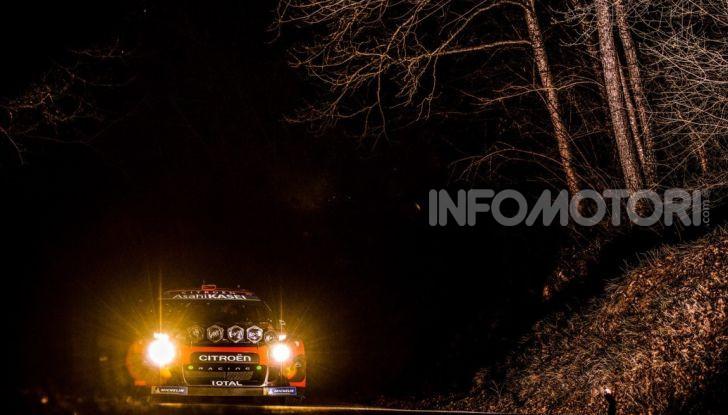 WRC Monte Carlo 2019 – Shakedown: buon piazzamento per le due Citroën C3 WRC - Foto 4 di 6
