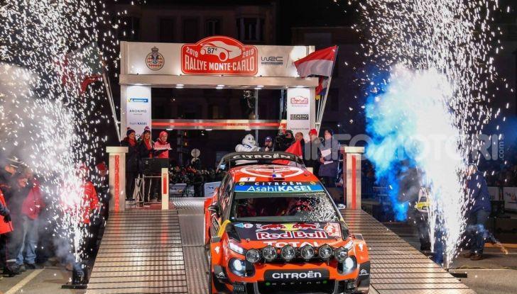 WRC Monte Carlo 2019 – Shakedown: buon piazzamento per le due Citroën C3 WRC - Foto 1 di 6