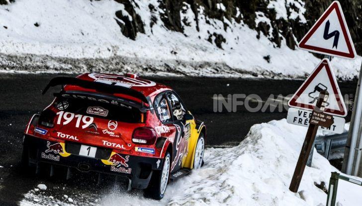 WRC Monte Carlo 2019: vince Citroën con la C3 WRC di Ogier – Ingrassia - Foto 2 di 4