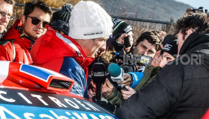 WRC Monte Carlo 2019 – Giorno 1: Ogier al comando con la Citroën C3 WRC - Foto 6 di 6
