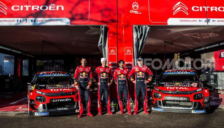 WRC Monte Carlo 2019 – presentazione: le dichiarazioni del team Citroën - Foto 2 di 4