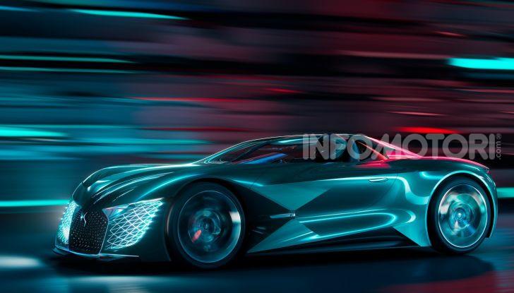 DS X E-TENSE: il sogno di DS Automobiles - Foto 1 di 5