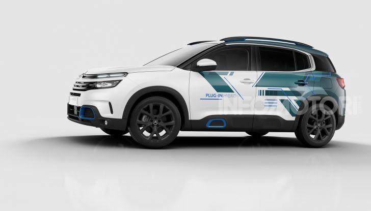 C5 Aircross Hybrid Concept: Citroën verso un futuro elettrico - Foto  di