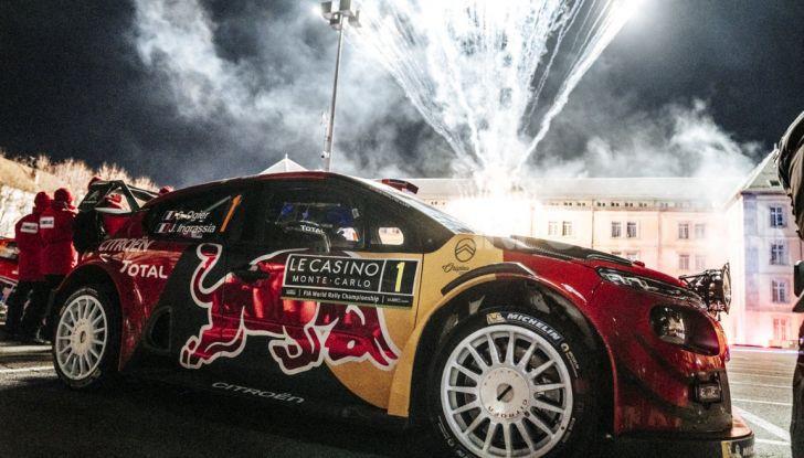 WRC Monte Carlo 2019: vince Citroën con la C3 WRC di Ogier – Ingrassia - Foto 1 di 4