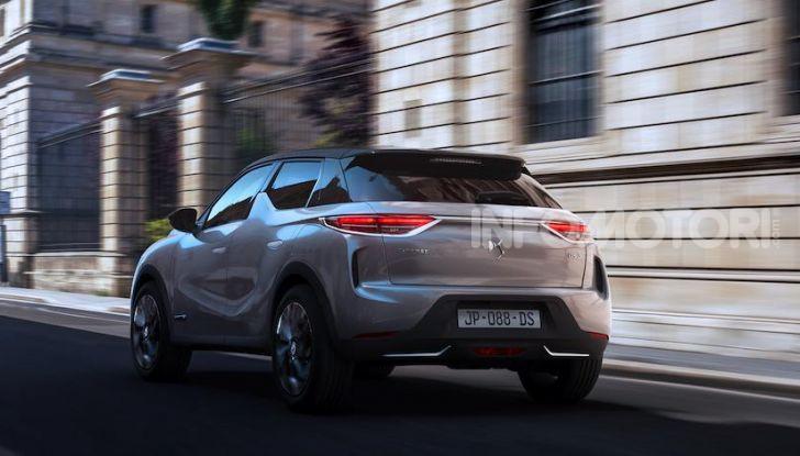 DS 3 Crossback 2019, il SUV di lusso urbano anche elettrico - Foto 16 di 29