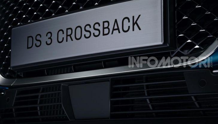 DS 3 Crossback 2019, il SUV di lusso urbano anche elettrico - Foto 19 di 29