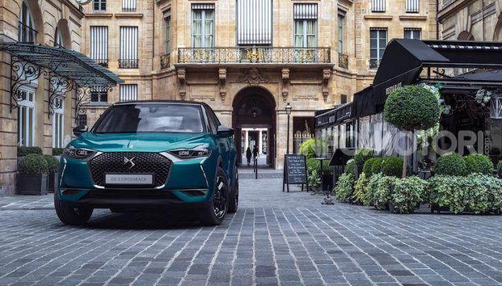 DS 3 Crossback 2019, il SUV di lusso urbano anche elettrico - Foto 7 di 29