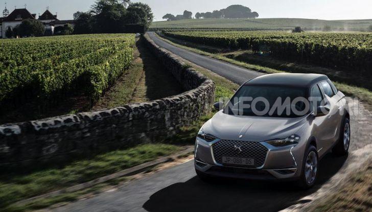 DS 3 Crossback 2019, il SUV di lusso urbano anche elettrico - Foto 8 di 29