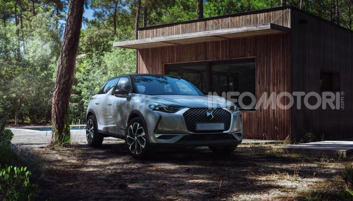 DS 3 Crossback 2019, il SUV di lusso urbano anche elettrico - Foto 10 di 29