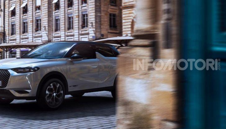 DS 3 Crossback 2019, il SUV di lusso urbano anche elettrico - Foto 9 di 29