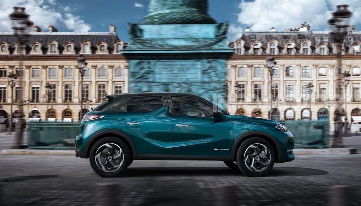 DS 3 Crossback 2019, il SUV di lusso urbano anche elettrico - Foto 11 di 29