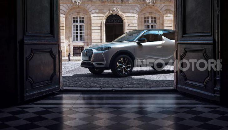 DS 3 Crossback 2019, il SUV di lusso urbano anche elettrico - Foto 13 di 29