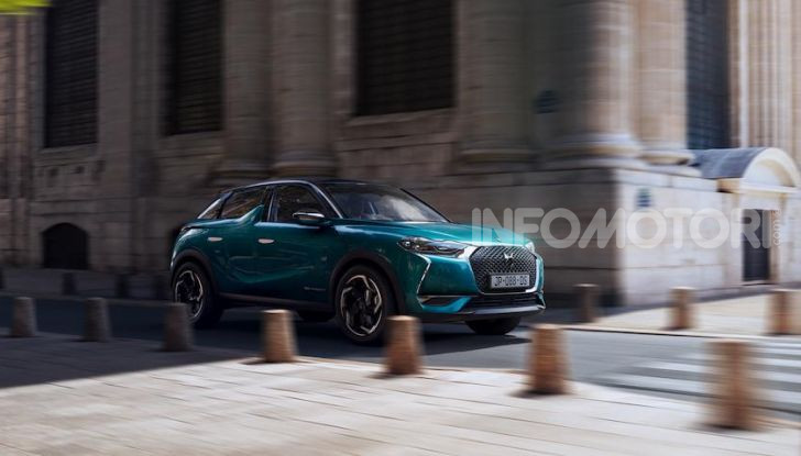 DS 3 Crossback 2019, il SUV di lusso urbano anche elettrico - Foto 15 di 29