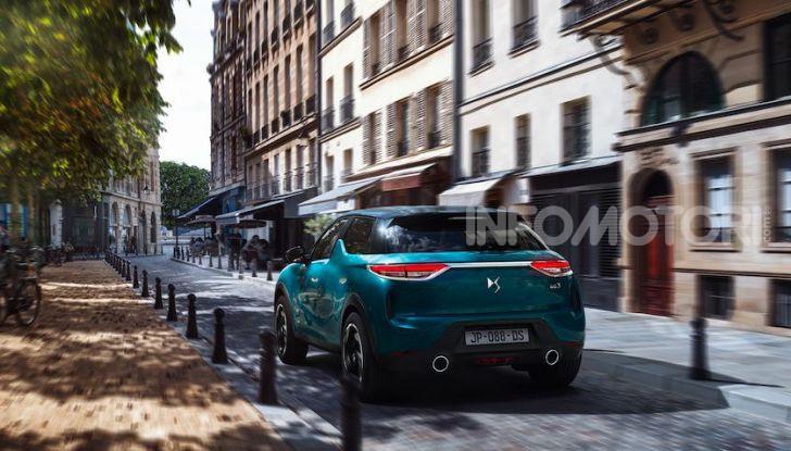 DS 3 Crossback 2019, il SUV di lusso urbano anche elettrico - Foto 14 di 29
