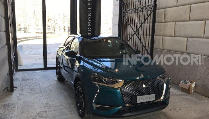 DS 3 Crossback 2019, il SUV di lusso urbano anche elettrico - Foto 29 di 29