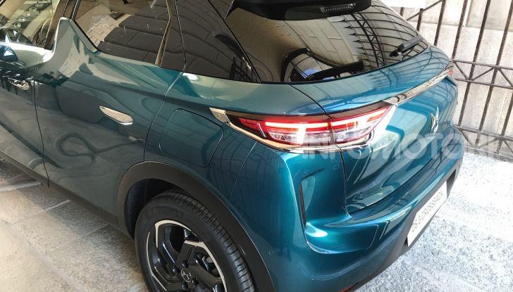 DS 3 Crossback 2019, il SUV di lusso urbano anche elettrico - Foto 3 di 29