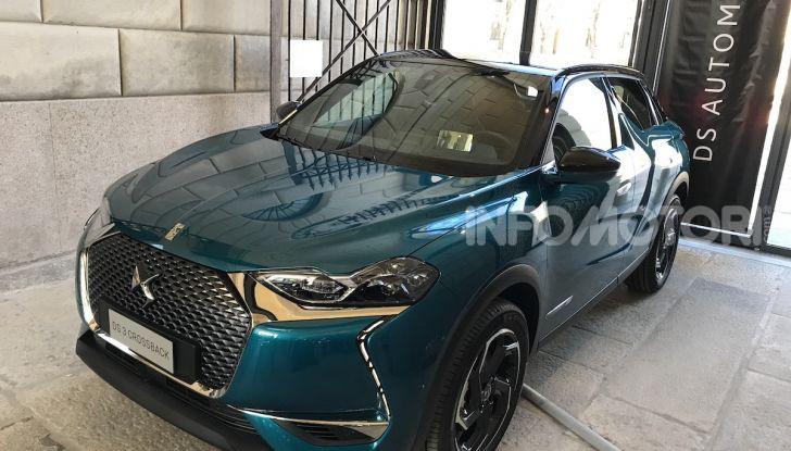 DS 3 Crossback 2019, il SUV di lusso urbano anche elettrico - Foto 1 di 29