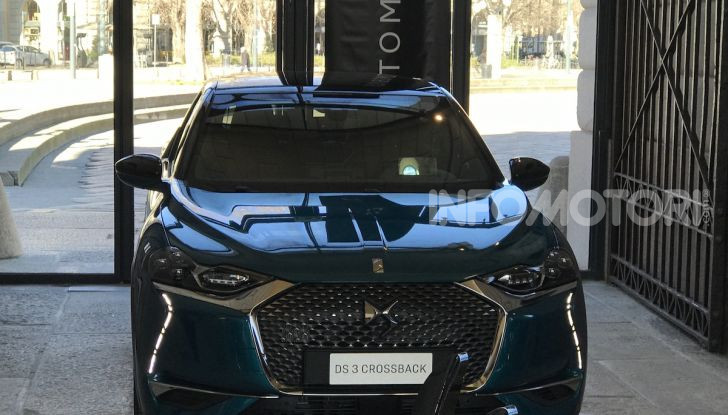 DS 3 Crossback 2019, il SUV di lusso urbano anche elettrico - Foto 2 di 29