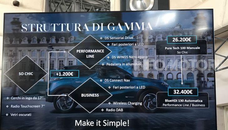 DS 3 Crossback 2019, il SUV di lusso urbano anche elettrico - Foto 6 di 29