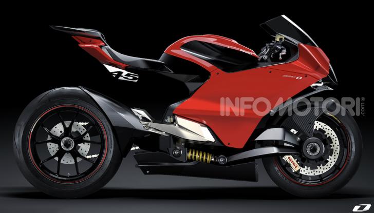 Ducati Zero: la moto elettrica arriva da Borgo Panigale - Foto 7 di 10