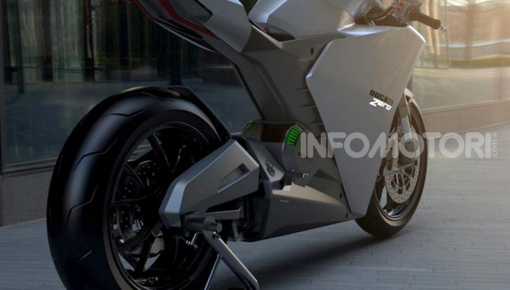Ducati Zero: la moto elettrica arriva da Borgo Panigale - Foto 9 di 10
