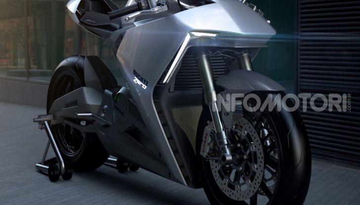 Ducati Zero: la moto elettrica arriva da Borgo Panigale - Foto 10 di 10