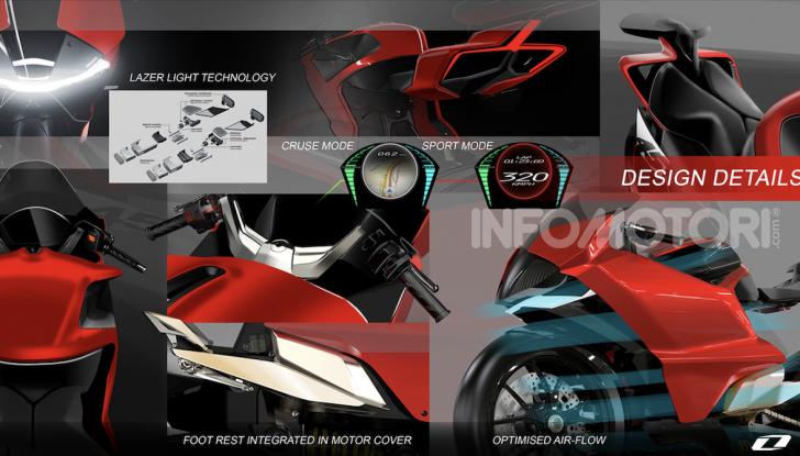 Ducati Zero: la moto elettrica arriva da Borgo Panigale - Foto 8 di 10