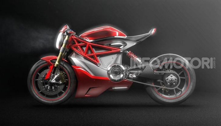 Ducati Zero: la moto elettrica arriva da Borgo Panigale - Foto 3 di 23