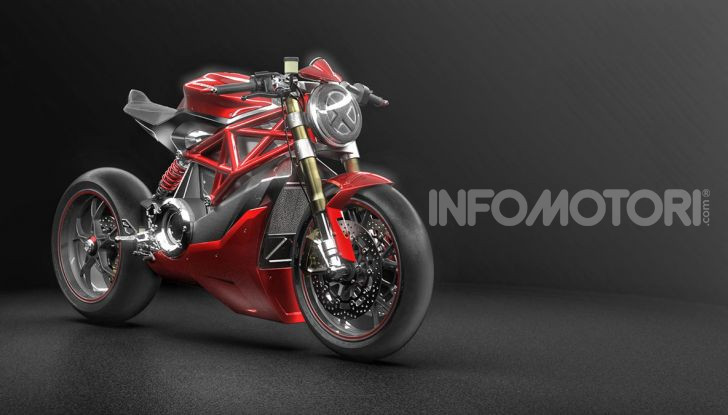 Ducati Zero: la moto elettrica arriva da Borgo Panigale - Foto 12 di 23