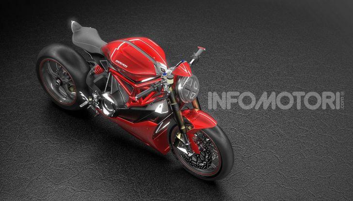 Ducati Zero: la moto elettrica arriva da Borgo Panigale - Foto 9 di 23