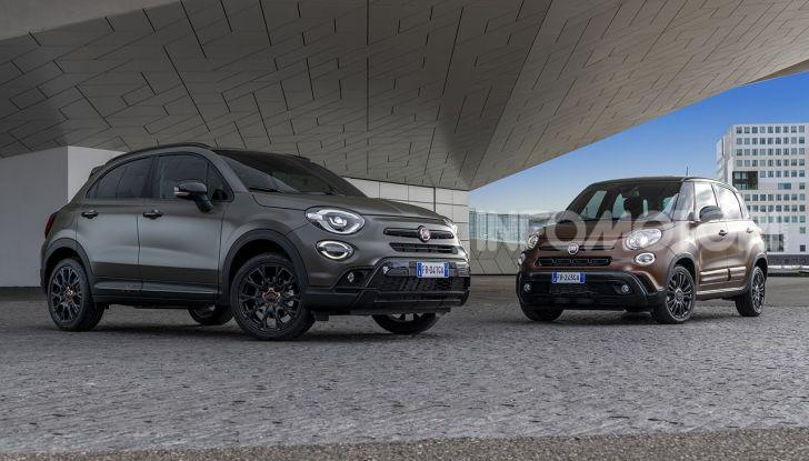 Fiat 500X e 500L S-Design, nuove serie speciali esclusive - Foto 1 di 10