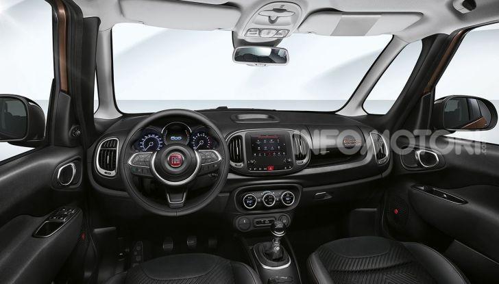 Fiat 500X e 500L S-Design, nuove serie speciali esclusive - Foto 9 di 10