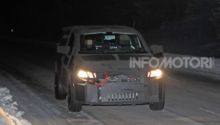 Nuovo pick-up Fiat, mix tra Mobi e Toro - Foto 3 di 11