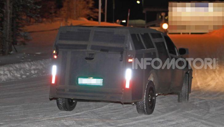 Nuovo pick-up Fiat, mix tra Mobi e Toro - Foto 8 di 11