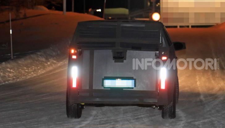 Nuovo pick-up Fiat, mix tra Mobi e Toro - Foto 5 di 11