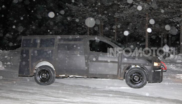 Nuovo pick-up Fiat, mix tra Mobi e Toro - Foto 2 di 11