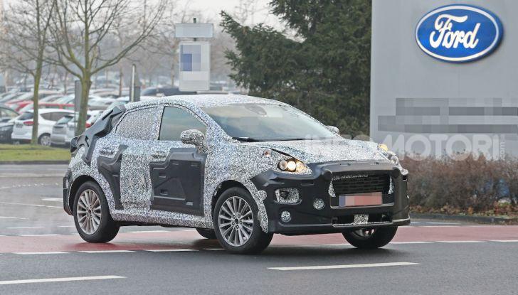 Il nuovo SUV di Ford su base Fiesta per il 2020 - Foto 7 di 16
