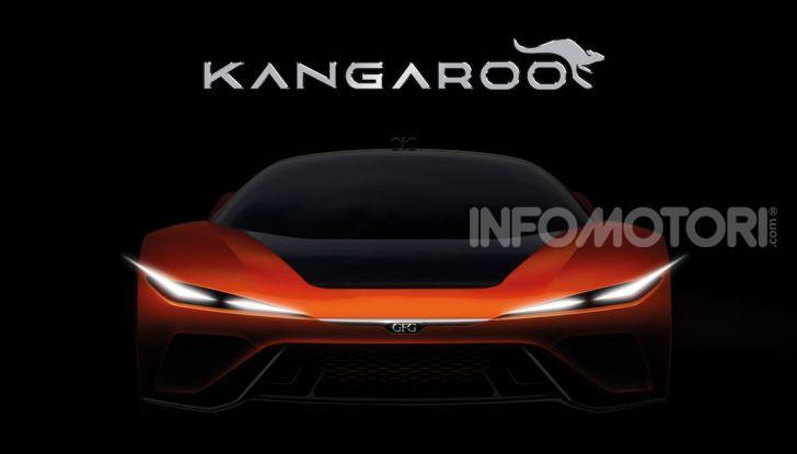 CH-Auto Kangaroo, il SUV elettrico dei Giugiaro per la Cina - Foto 2 di 3