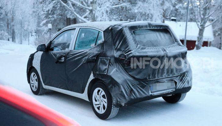 Hyundai i10, dettagli della nuova generazione - Foto 12 di 28
