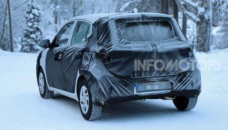 Hyundai i10, dettagli della nuova generazione - Foto 13 di 28