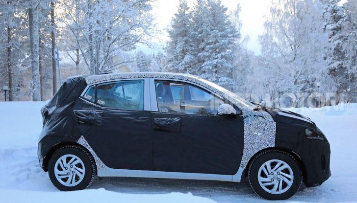 Hyundai i10, dettagli della nuova generazione - Foto 18 di 28