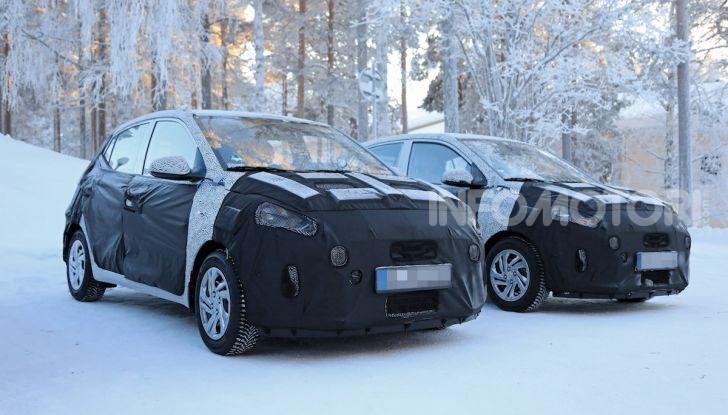 Hyundai i10, dettagli della nuova generazione - Foto 21 di 28