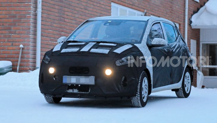 Hyundai i10, dettagli della nuova generazione - Foto 1 di 28