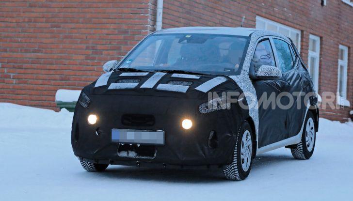Hyundai i10, dettagli della nuova generazione - Foto 9 di 28