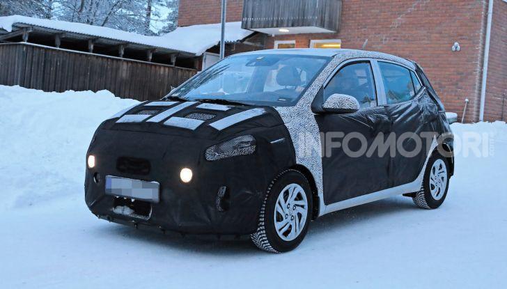 Hyundai i10, dettagli della nuova generazione - Foto 10 di 28