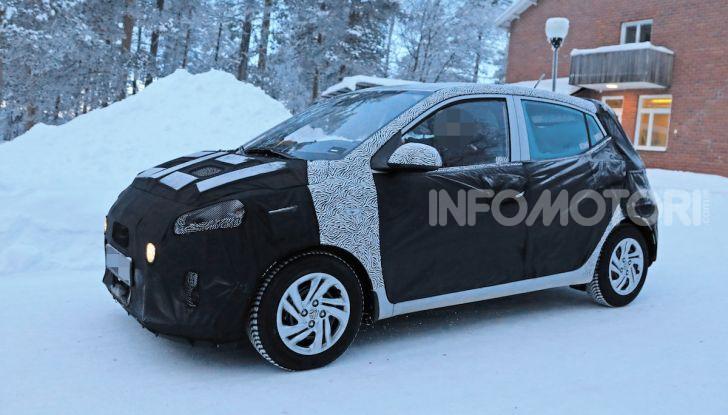 Hyundai i10, dettagli della nuova generazione - Foto 2 di 28