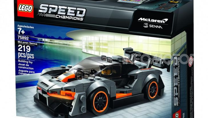 LEGO Speed Champions: la McLaren Senna in vendita a 14.99€ - Foto 4 di 6