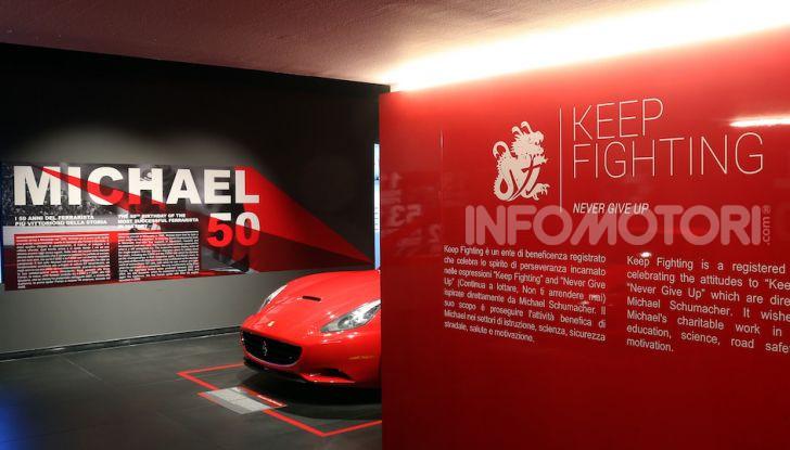Michael 50, la mostra dedicata a Michael Schumacher - Foto 14 di 15